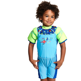 Zoggs Sea Saw Swimsuit Children green/turquoise